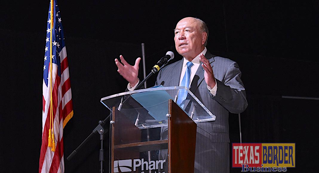 "Texas Senator Juan ""Chuy"" Hinojosa. Photo by Roberto Hugo Gonzalez"