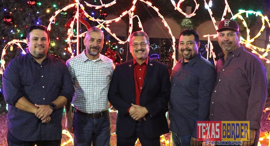 From left to right: Interim City Manager Ed Wylie, Commissioner Ramiro Caballero, Commissioner Eleazar Guajardo, Commissioner Daniel Chavez, and Commissioner Bobby Carillo.