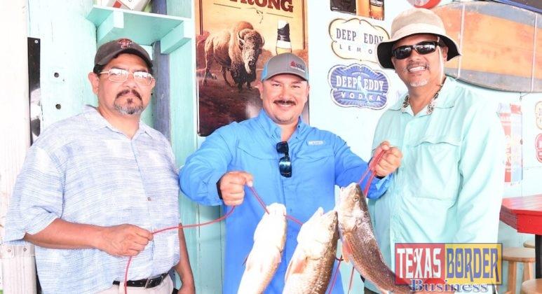 Robert Castillo, from Brownsville PUB; Rigo Gomez, and Lalo Perez both from Edinburg
