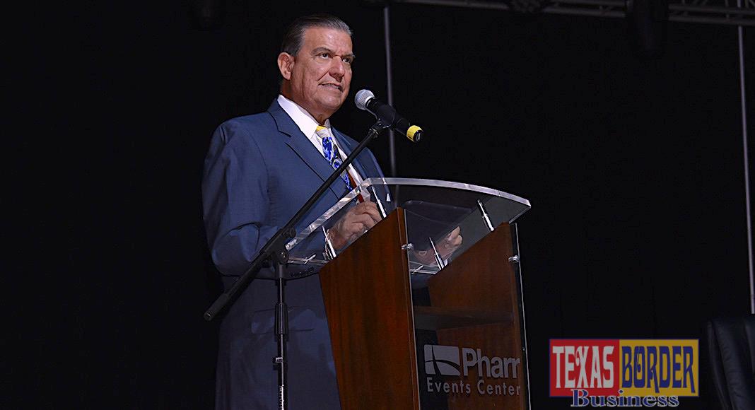 Texas Senator Eddie Lucio, Jr. Photo by Roberto Hugo Gonzalez