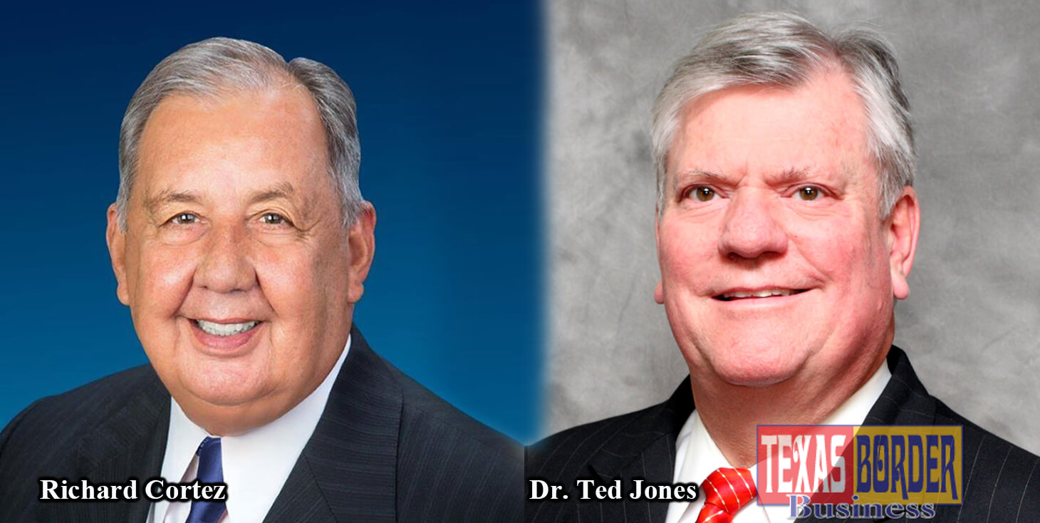 Dr. Ted C. Jones, Ph.D. and Hidalgo County Judge Richard R. Cortez will headline the 15th Annual State of Real Estate Forum scheduled on March 8, 2019, at the Edinburg Conference Center at Renaissance. The State of Real Estate Forum is coordinated and presented by Edwards Abstract and Title Co.