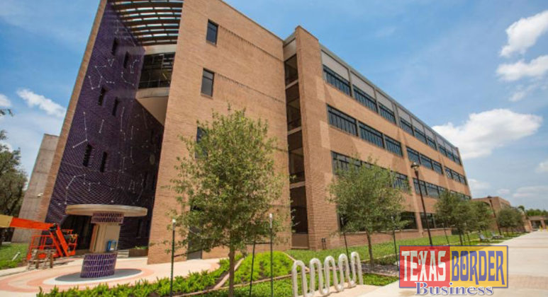The new Science Building on the Edinburg campus. (Photo by Paul Chouy)