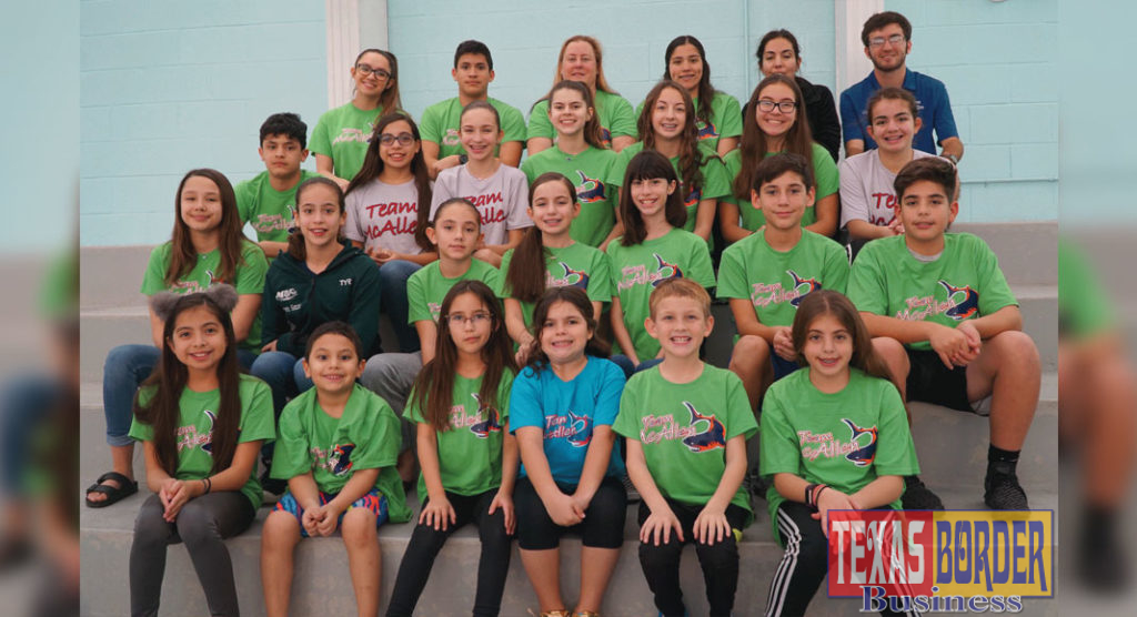 21 Students will represent Texas in August for swimming.