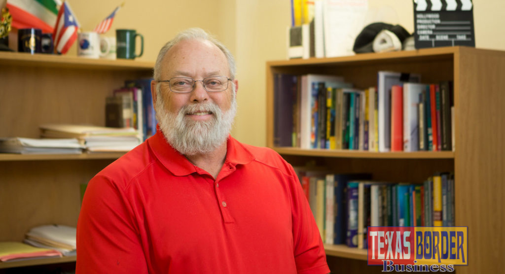 Pictured is Dr.Bruce Reed, professor and director of rehabilitation services and counseling at UTRGV. (Photo by Paul Chouy)