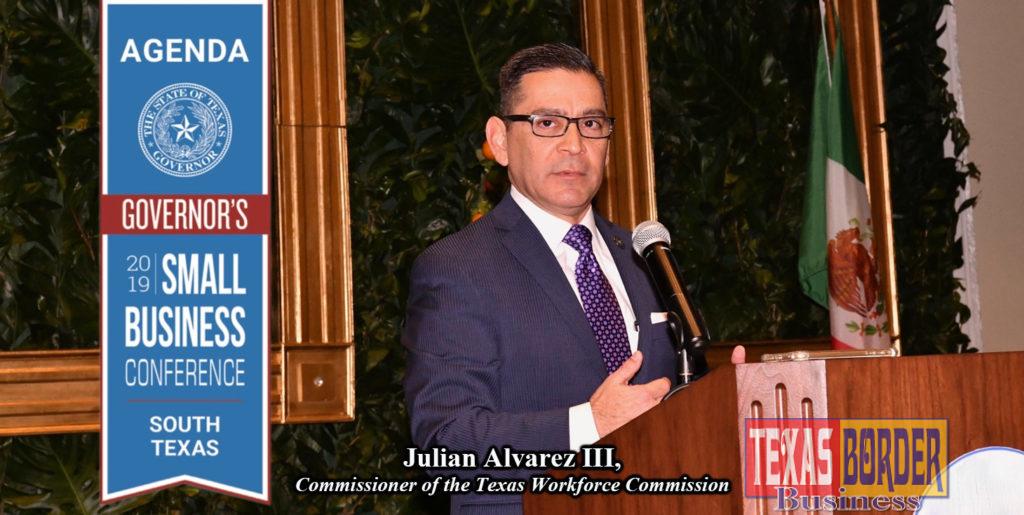 Julian Alvarez III, Commissioner of the Texas Workforce Commission
