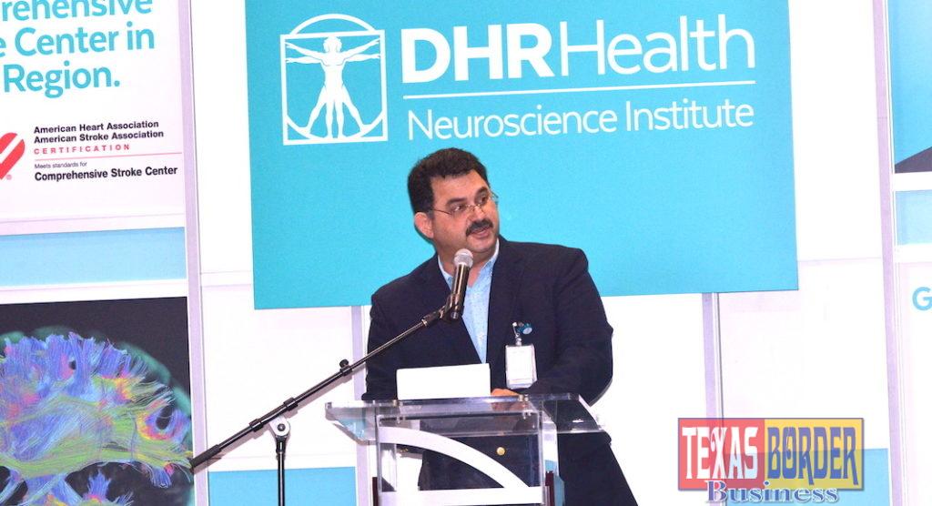 Dr. Juan M. Padilla, neurosurgeon and Chair of the DHR Health Neuroscience Institute