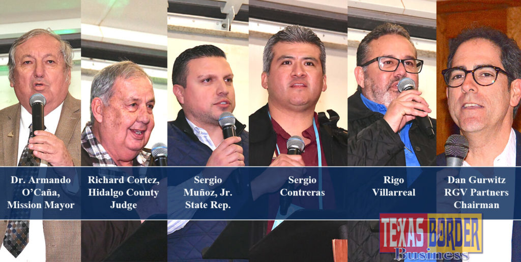Legislators from the state of Texas were hosted by several businesses and organizations when they visited the Rio Grande Valley from January 24-27, 2019.