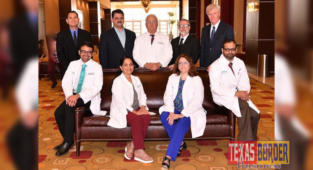 The Neuroscience Institute team at DHR Health. Photo by Roberto Hugo Gonzalez