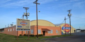 Front view of new Kapal Industries International Headquarters, 508 S. Nevada Ave. Weslaco, Texas 78596
