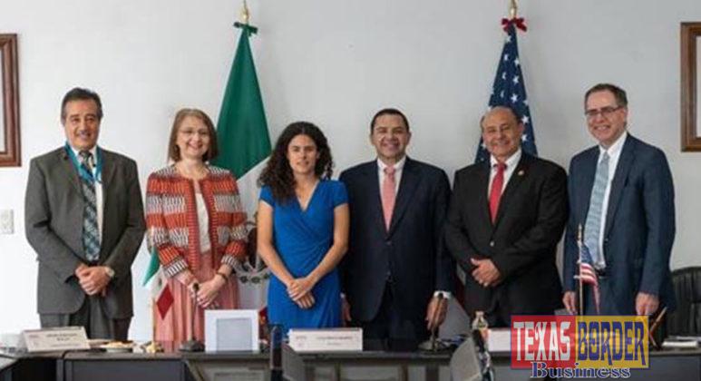 Congressman Henry Cuellar (TX-28) meets with the Minster of Labor Luisa María Alcalde Luján and Undersecretary for Foreign Trade Luz Maria de la Mora to discuss trade and labor reform.