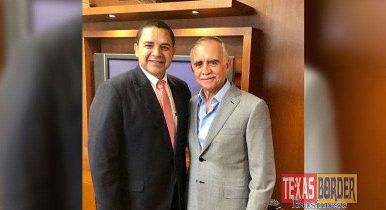 Congressman Henry Cuellar (TX-28) meets with Alfonso Romo Garza, President López Obrador's Chief of Staff to discuss USMCA and labor reform.