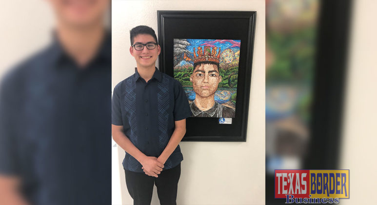 High school VASE submission by Christopher Karr, PSJA Early College High School, Advanced to State level & received Gold Seal