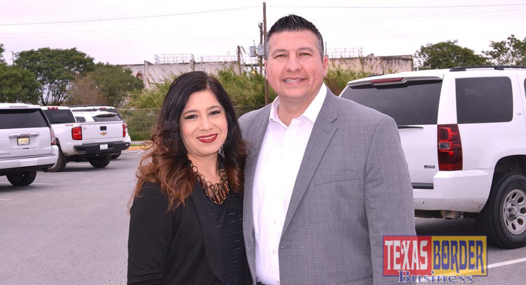 Mayor Richard Molina and wife Dalia. Photo archive