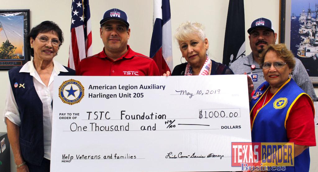 TSTC American Legion Donation