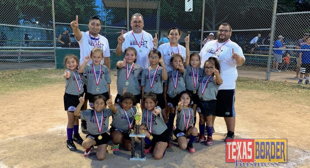 Weslaco All Stars in the Girls Shetland division is one of eight Weslaco teams that will compete to advance to the PONY League Regional Softball Tournament in Weslaco.