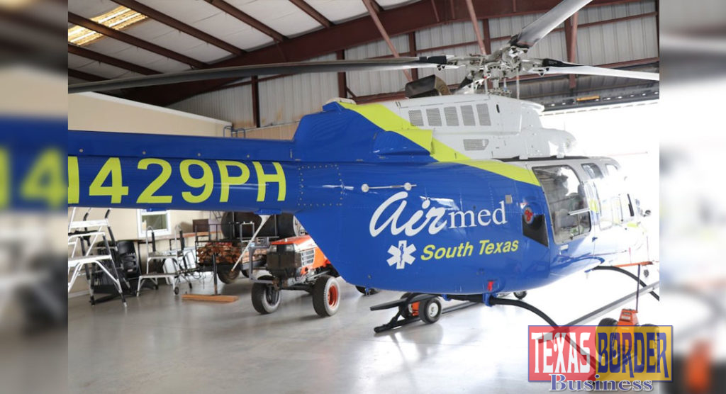 Air Med 1, a Bell 407 rotor ambulance, to be celebrated with ribbon
