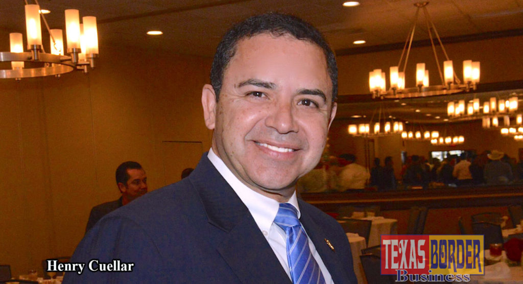 Congressman Henry Cuellar. Photo by Roberto Hugo González