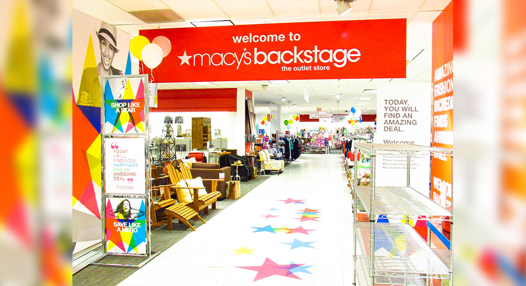7881940768d Macy's Opens the First Backstage Outlet at Macy's La Plaza Mall ...