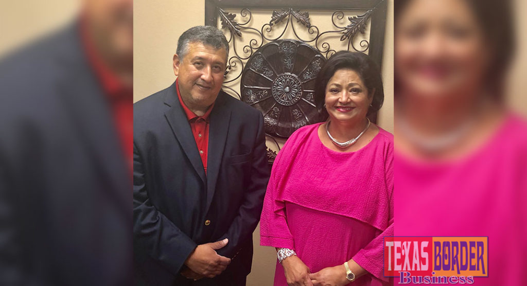 Shown preparing for the workshop are Cynthia M. Sakulenzki, RGVHCC Pres/CEO and Gilbert Solis, SBA