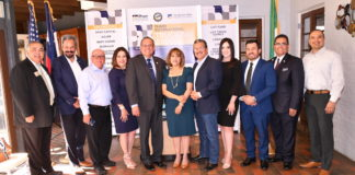 Distinguished group of officials got together to announce the upcoming Pharr International Trucking Expo to be celebrated September 21, 2019.