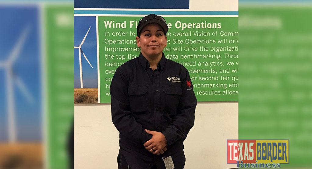 TSTC Wind Energy Technology Alum, Eva Gonzalez