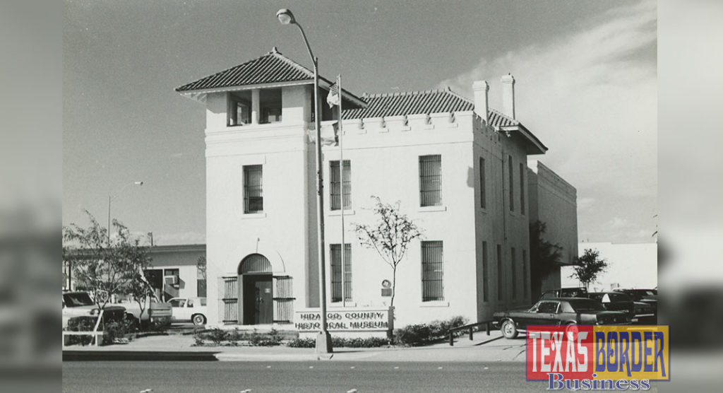 Photo Courtesy of the Margaret H. McAllen Memorial Archives. The Museum of South Texas History is looking for items related to the 1910 Jail.