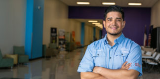 STC Alumnus Jay Villegas is making big moves in the heating, ventilation, and air conditioning (HVAC) business. He credits the College's HVAC program for preparing him for the ins and outs of the HVAC industry.