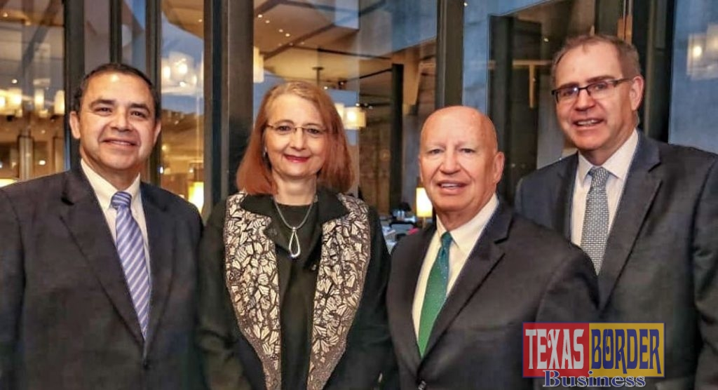Congressman Henry Cuellar (TX-28) meets with Mexican Under Secretary for Foreign Trade Luz Maria de la Mora