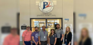 College Connections at STC recently held an Apply Texas and Financial Aid drive at the Hidalgo County Precinct 2 offices. Financial aid outreach representatives from STC along with recruitment staff were on hand for county employees who are seeking to attend classes at STC in the fall.
