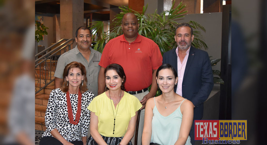 Shown are: (front-left to right): Kaylynn Norman, Sally Fraustro Guerra and Lesley Chavez (back-left to right) Jesse Deleon, Maurice Welton and Rigo Villarreal
