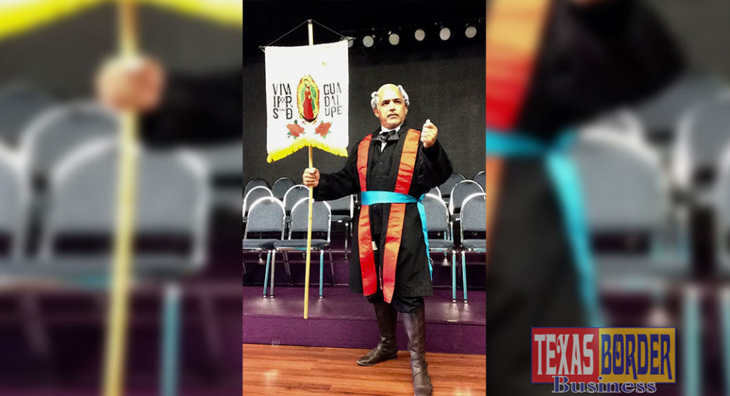 Pedro Garcia will perform a monologue (in Spanish) written by Mercedes Varela as Father Miguel Hidalgo on Monday, September 16 at the Pharr Community Theater
