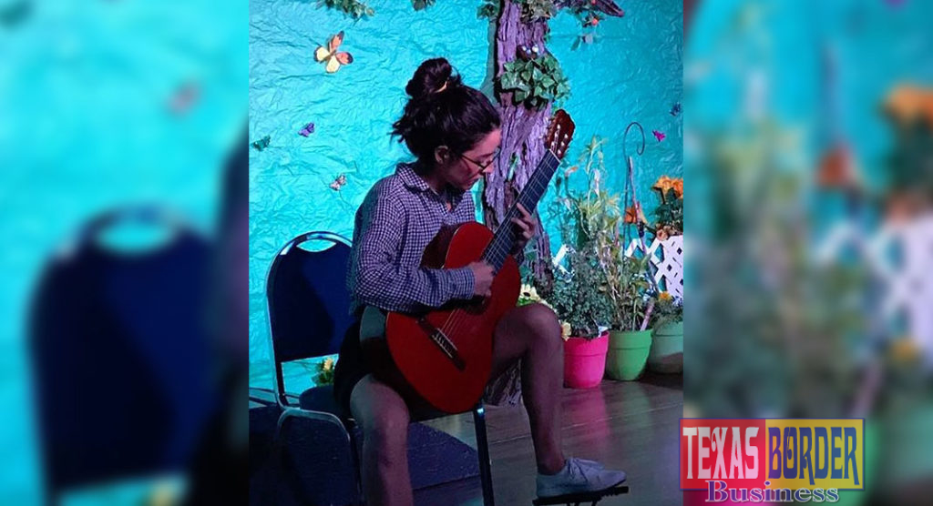 Micaela Miranda, UTRGV classical guitar student will perform a solo at Pharr Community Theater on Monday, September 16.