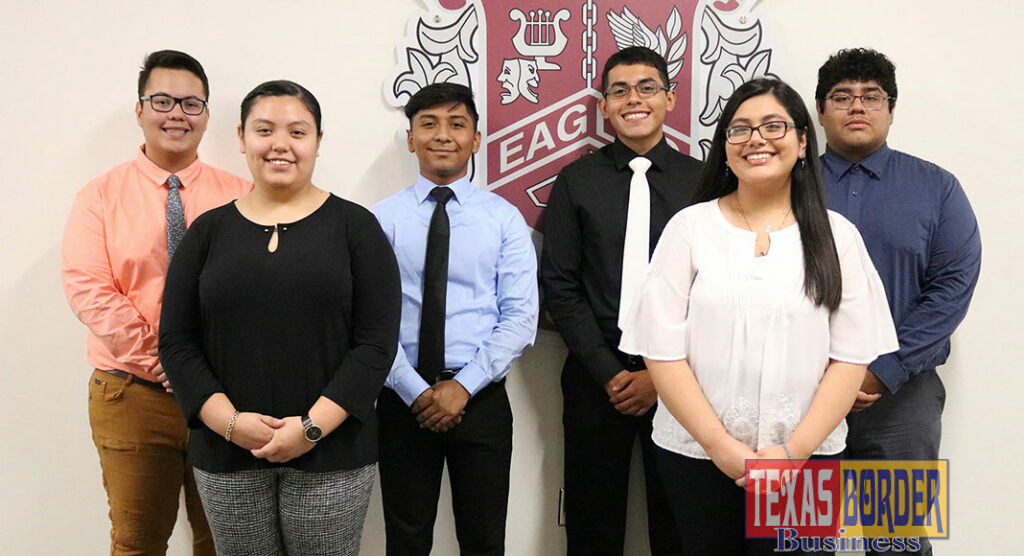 Pictured are the current MHS students who earned an AP Scholar Award this year, from left to right: Kevin Santos Guzman, Lisa Garza, Abraham Cruz, David Medina, Yazmin Cortes, Sebastian Ortiz.