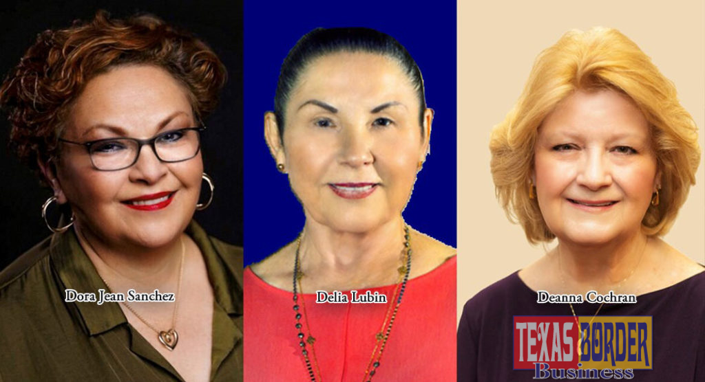 Three successful McAllen businesswomen will be honored as they are given the opportunity to discuss their journeys to success.  The women to be honored are Delia Lubin, owner of Delia's Tamales, Dora Jean Sanchez owner of De Sanchez Day Spa & Salon and Deanna Cochran, owner of Coffee Zone.