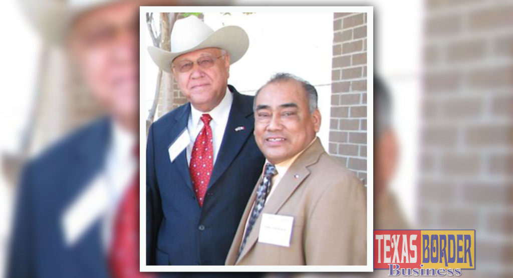 From L-R: Mercurio Martinez Jr., AHEC Board Chair and Blas Castaneda.