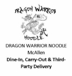 Dragon Warrior Noodle McAllen