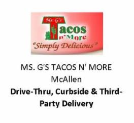 Ms. G's Tacos N' More McAllen