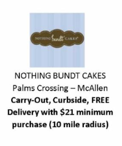 Nothing Bundt Cakes McAllen