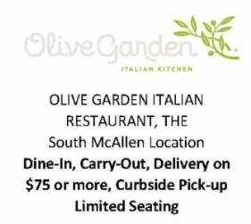 Olive Garden Italian Restaurant, McAllen