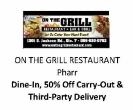 On the gril restaurant Pharr