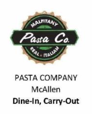 Pasta Company McAllen