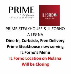 Prime Steakhouse & Il Forno a legna McAllen