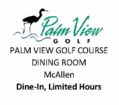 Palmview golf course dining room McAllen