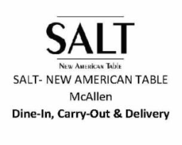 SALT New American Table McAllen