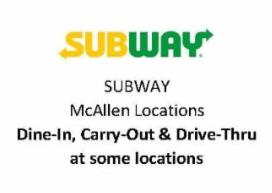 Subway McAllen
