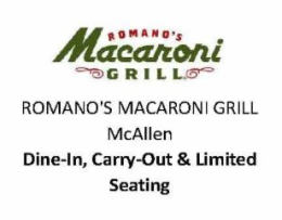 Romano's Macaroni Grill McAllen