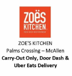 Zoes Kitchen McAllen