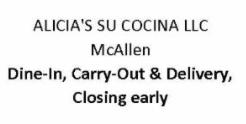 Alicia's Su Cocina McAllen TX