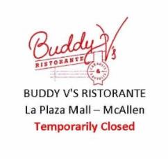 Buddy V's Ristorante La Plaza Mall McAllen