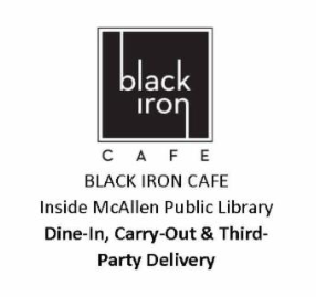 Black Iron Cafe McAllen Public Library